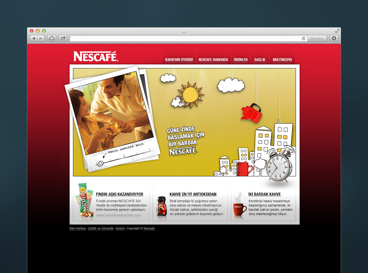 Digital Marketing for Nescafe Turkey