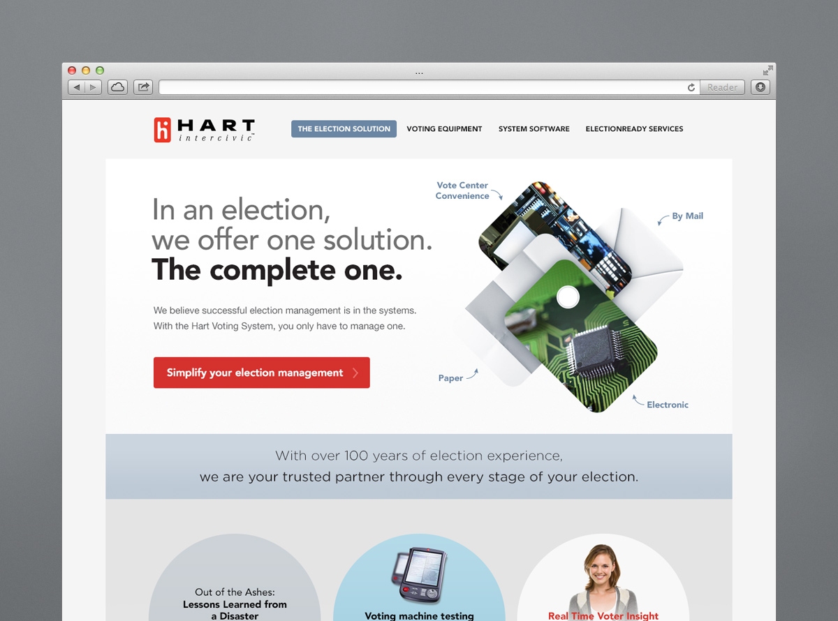 Web Design for Election & Print Solutions