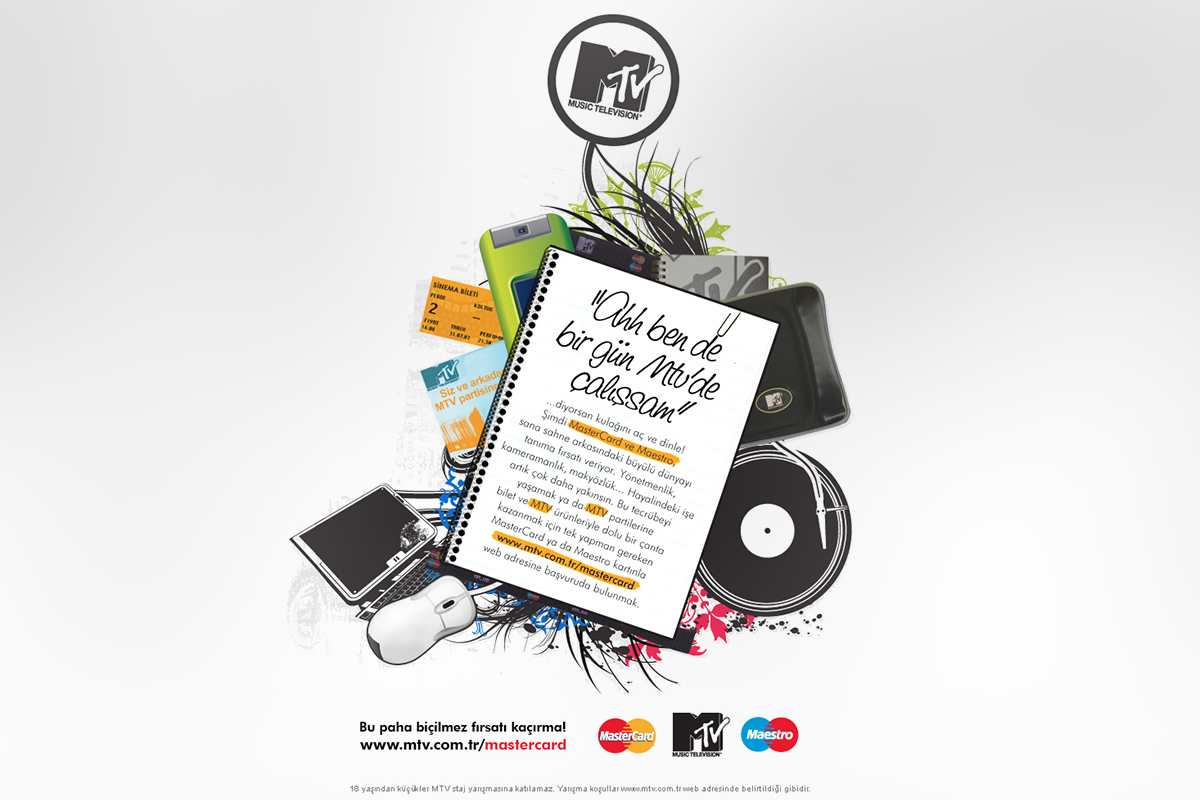 Digital Marketing for MTV Turkey