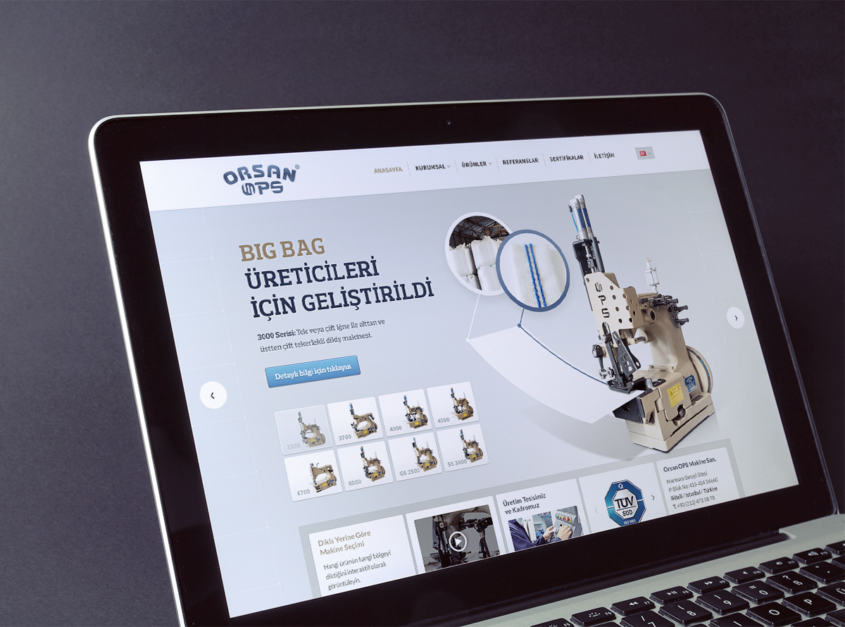 Orsan OPS Web Page Design